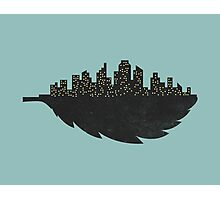 Leaf City Photographic Print