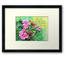 Happyness  Framed Print