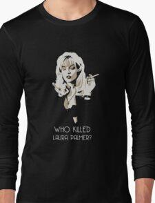 Twin Peaks - Laura Palmer Long Sleeve T-Shirt