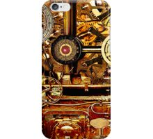 Steampunk Gearbox  iPhone Case/Skin