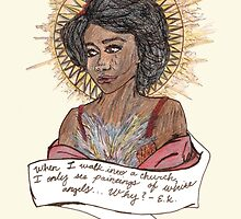 eartha kitt angel. by Jessica Garcia