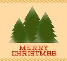Christmas Tree - Christmas Card by charliesheets