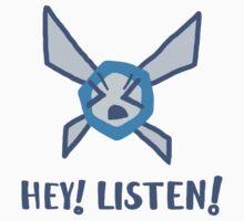 Hey! Listen! Kids Tee