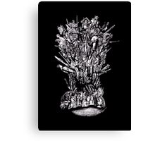 The Tarot Throne Revisited Canvas Print