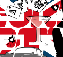 The most famous spy Sticker