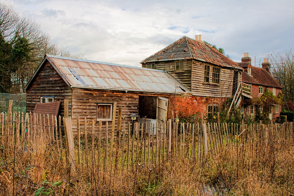 Old Cyder House by Dave Godden