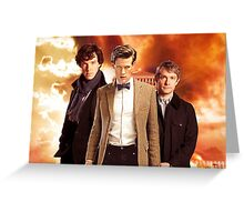 WhoLock Group Greeting Card