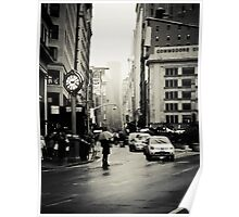 Rain on 5th Avenue - New York City Poster