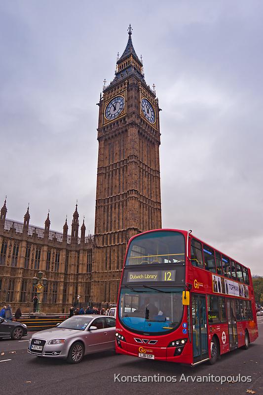Big Ben, London by Konstantinos Arvanitopoulos