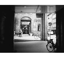 #NeinGrenze - bw Street Photographic Print