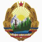 Emblem of Romania, 1965-1989 by abbeyz71