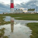 Portland Bill Puddle by bethadin