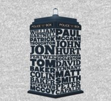 Name of the Doctors Baby Tee