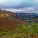 The Langdale Valley by Rebecca Mason