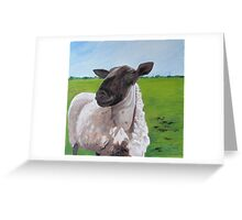 Big George Greeting Card