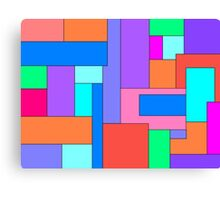 Colorblocked Canvas Print