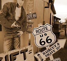 Route 66 - James Dean by Mike  McGlothlen