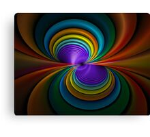 Colored Tubes Canvas Print