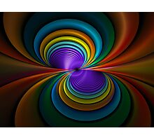 Colored Tubes Photographic Print