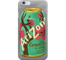 Green Tea iPhone Case/Skin