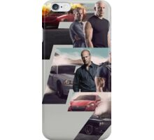 Fast Furious 7 Movie Poster iPhone Case/Skin
