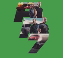 Fast Furious 7 Movie Poster Kids Clothes
