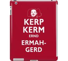 Kerp Kerm Ernd Ermahgerd iPad Case/Skin