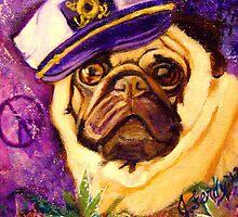 Captain Pug by Jennifer Ferdinandsen