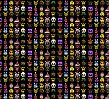 Five nights at Freddy's Monster Faces by Design4You