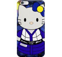 Tardis Kitty 2.0 iPhone Case/Skin