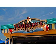 Jenkinson's Pavilion - Pt. Pleasant Beach NJ Photographic Print