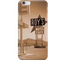 Route 66 - Roy's Motel iPhone Case/Skin