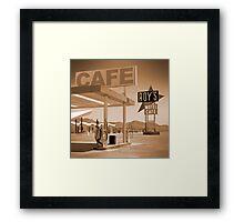 Route 66 - Roy's Motel Framed Print