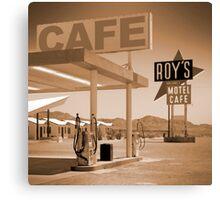 Route 66 - Roy's Motel Canvas Print
