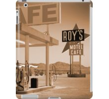 Route 66 - Roy's Motel iPad Case/Skin
