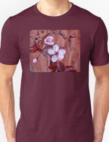 Mock Plum Blossoms Unisex T-Shirt