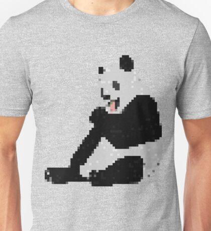 8-Bit Panda Unisex T-Shirt