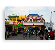 Fun House - Pt. Pleasant Beach NJ Canvas Print