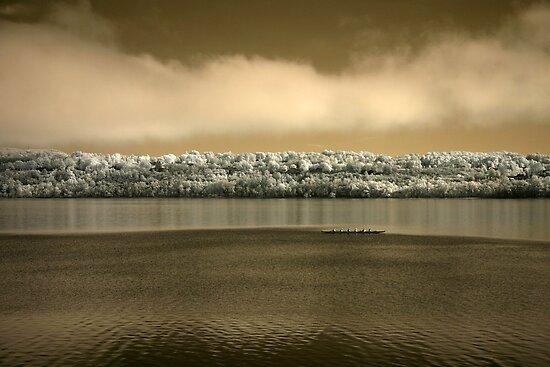 Ottawa River Paddlers, Dunrobin Ontario by Debbie Pinard