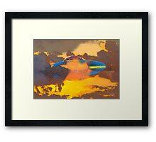 Sunset Guest Framed Print