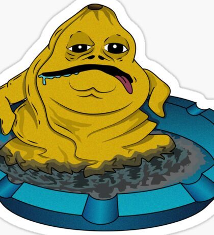 Jabba The Blunt Sticker