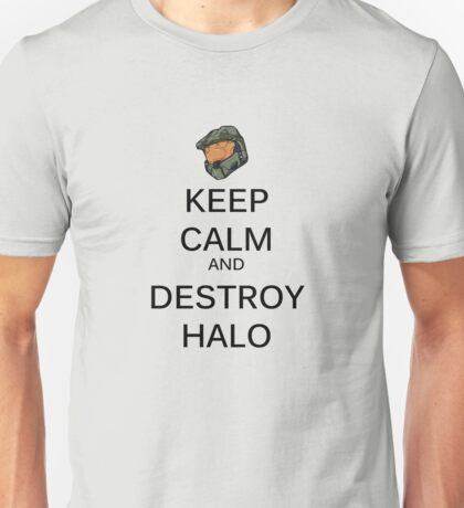 Keep Calm Halo Unisex T-Shirt