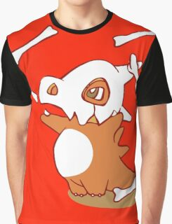 Cubone pokemon dinosaur Graphic T-Shirt
