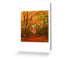 Heavenly Pathway Greeting Card
