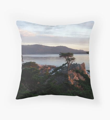 The Lone Cypress 3 Throw Pillow
