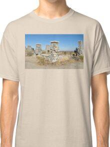 Ruins of commune Llano del Rio Classic T-Shirt