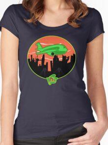 (Plane Jane)  Unisex Women's Fitted Scoop T-Shirt