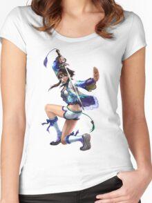 Xianghua 1 Women's Fitted Scoop T-Shirt
