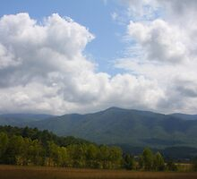 Open Space - Smoky Moutains by Tony Wilder