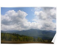 Open Space - Smoky Moutains Poster